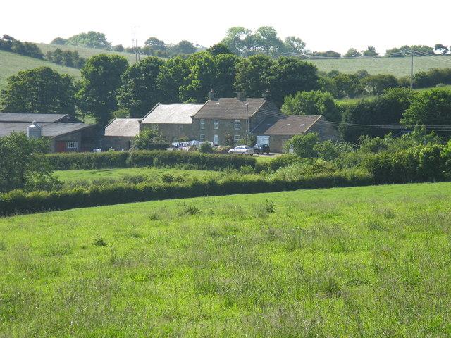 Bog house farm from footpath
