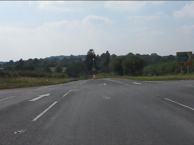A44 - Golden Cross junction