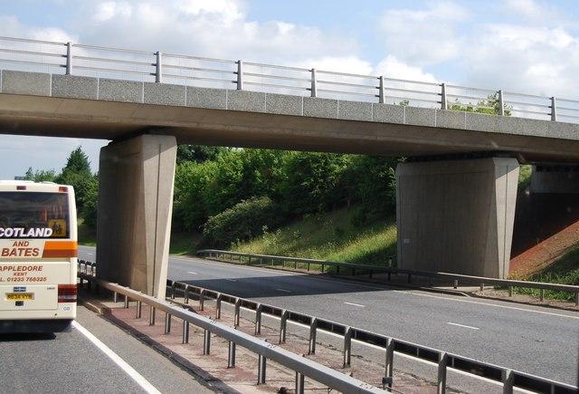 Bridge over the A11