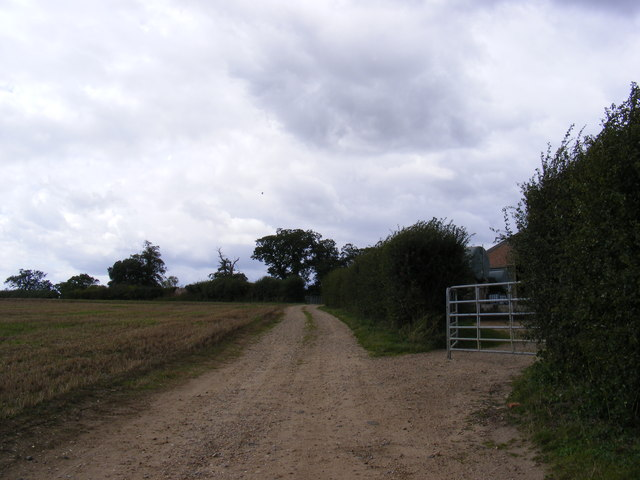 Track to St.Mary's Church