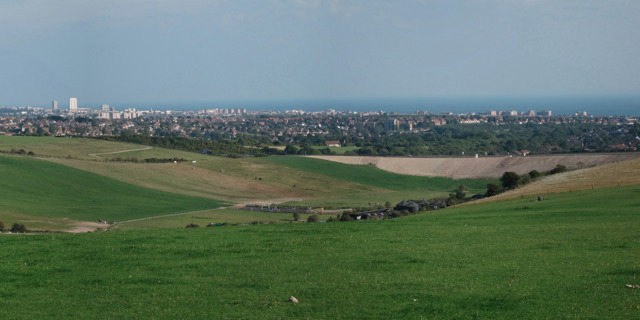 View from Mount Zion