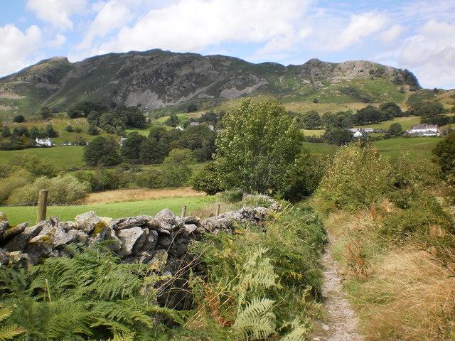 Lingmoor Fell above Little Langdale