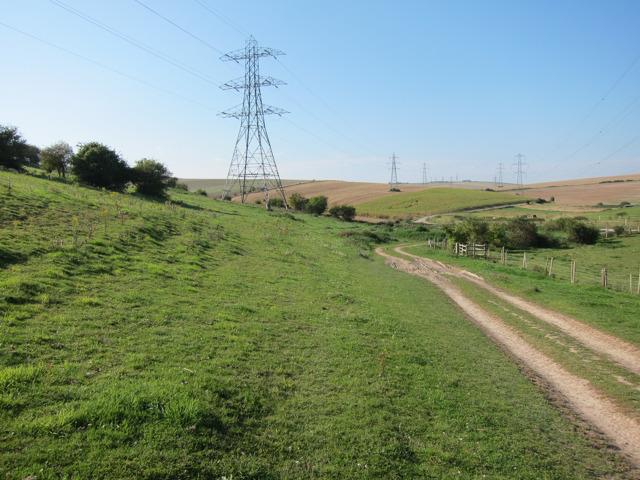 Track near Mileoak Barn