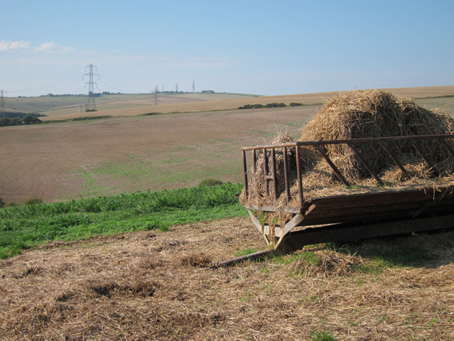 Hay Trailer by Sussex Border Path