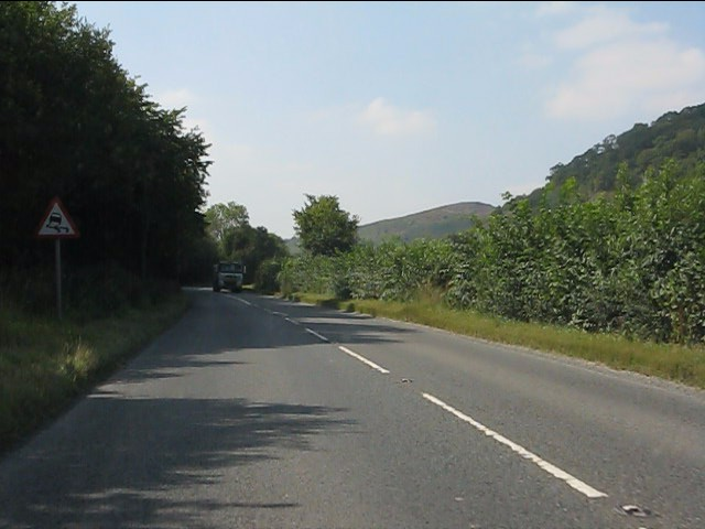 A44 paralleling the border