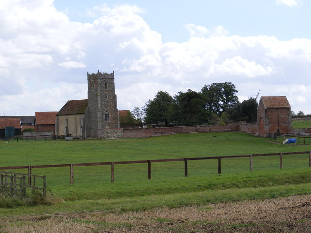 St.Mary's Church Leatheringham & Remains of the Priory of St.Augustinian