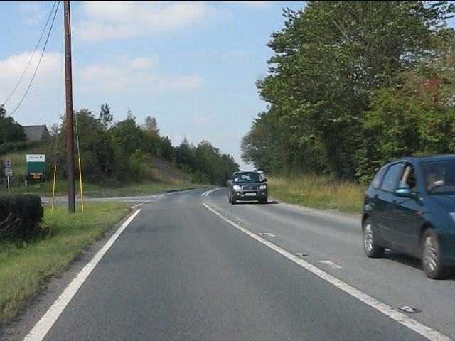 A44 at Gore