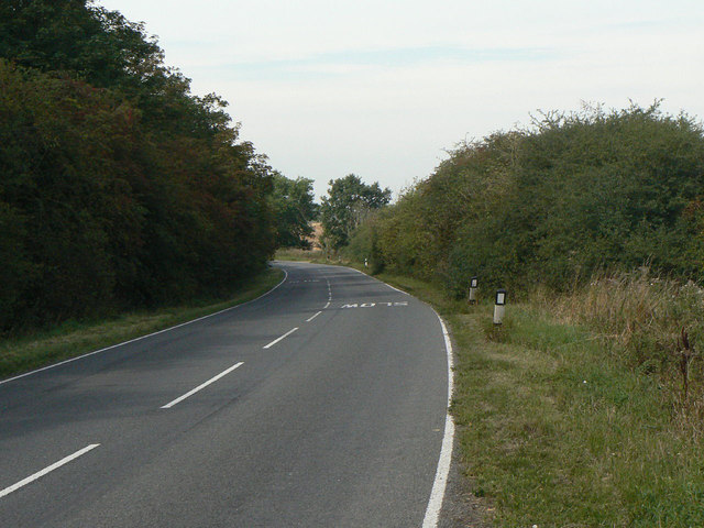 The centre of Stragglethorpe
