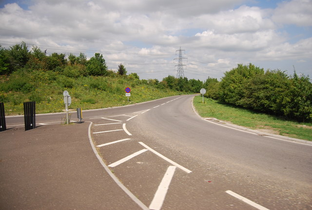 Slip road onto / off the A11
