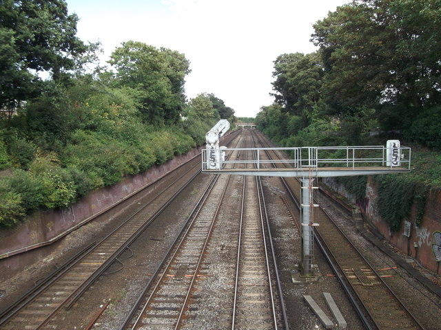 Railway from Bickley