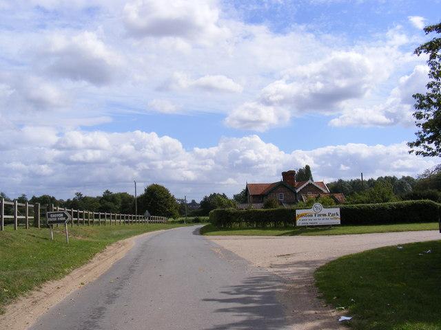 Hoo Road, Leatheringham