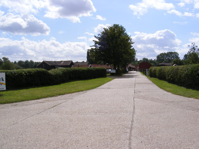 The Entrance to Easton Farm Park