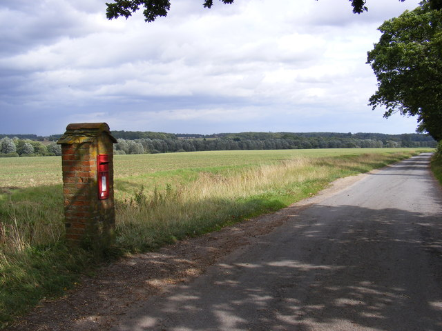 Hoo Road & Hoo Green Postbox