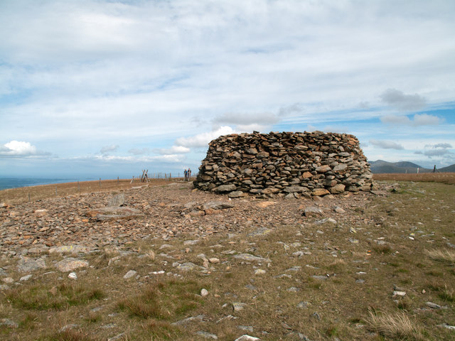 Summit area of Moel Eilio