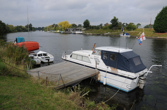 River Thames near West Molesey