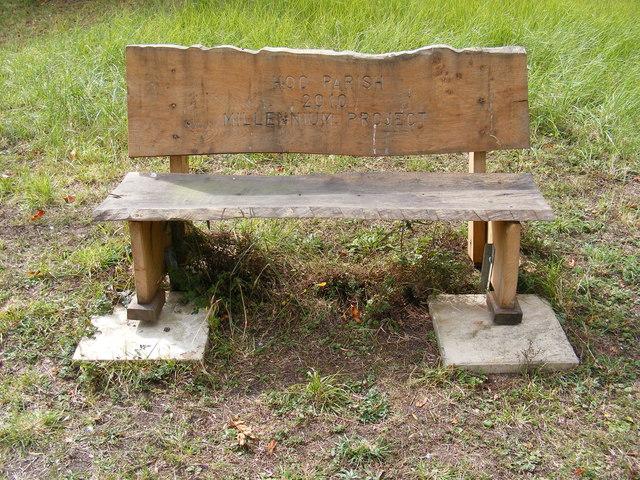 Hoo Millennium Project Seat