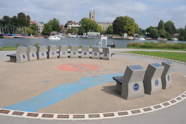 Heritage Marker, Hurst Park