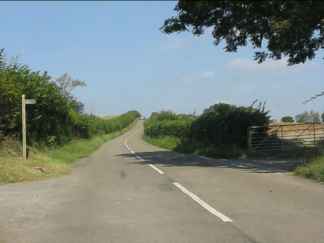 B4372 at Crossfield Lane