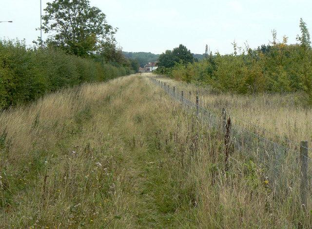 Track alongside the A52