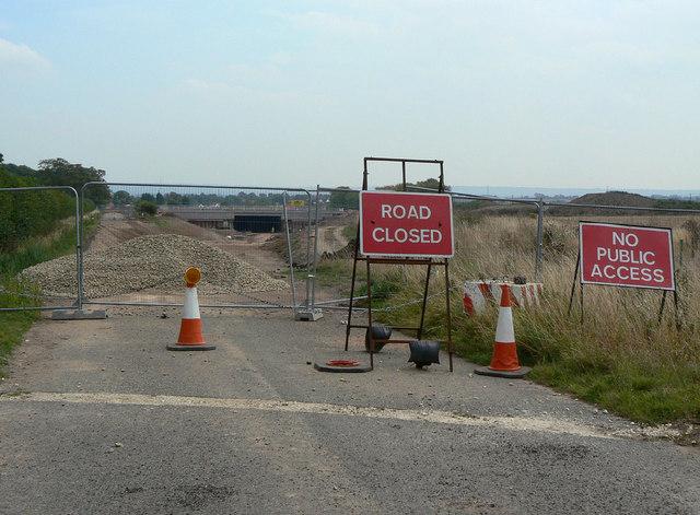 Cropwell Road closure