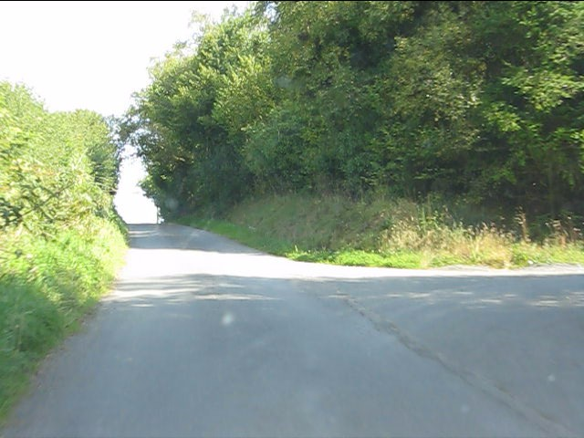 Lane to Thorn at the access to Castlering Wood