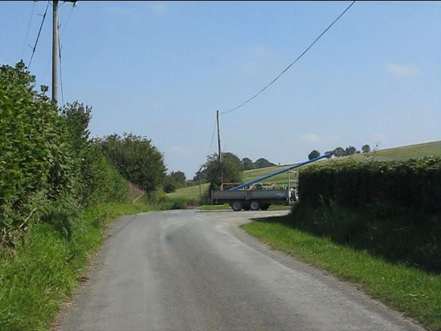 Lane to Thorn at Pen Offa