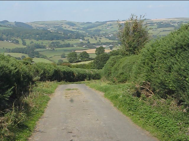 Across the Lugg Valley
