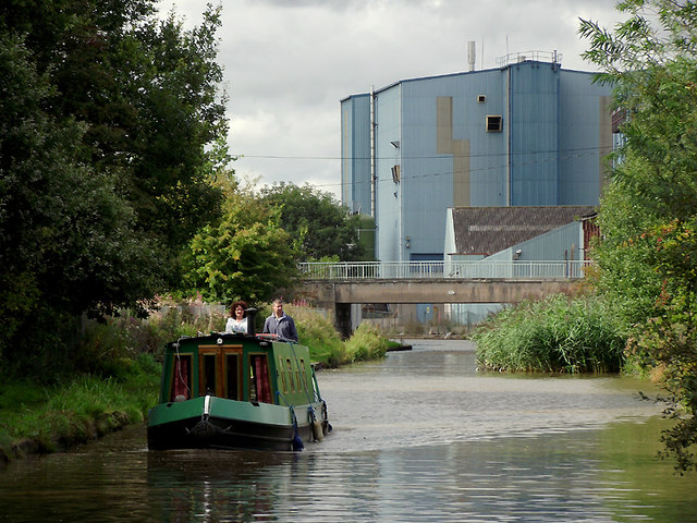 Trent and Mersey Canal at Wincham, Cheshire