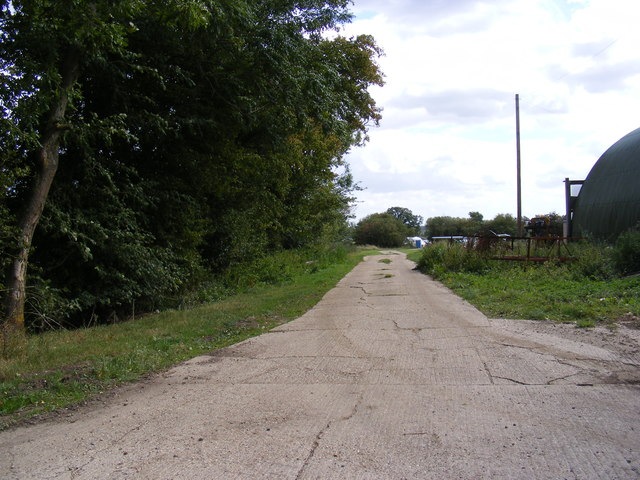 The Entrance to Cherry Tree Farm
