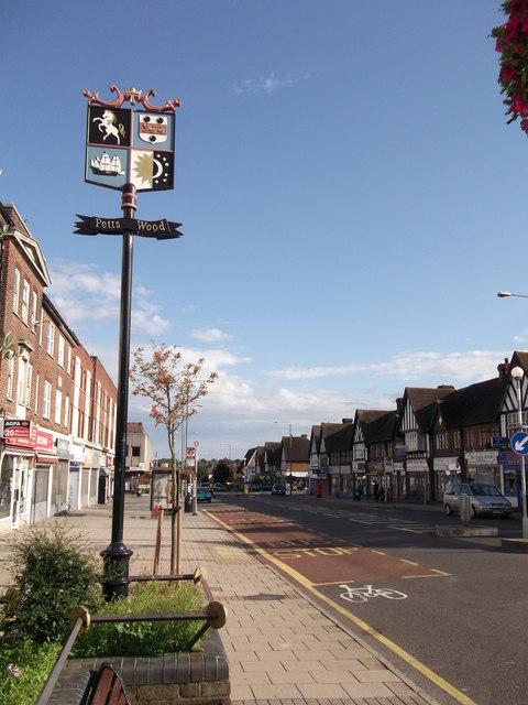 Petts Wood Village Sign