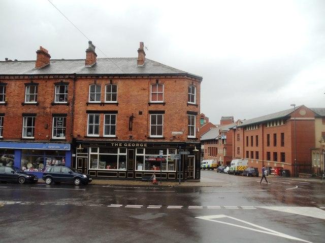 The George Hotel, Great George Street, Leeds