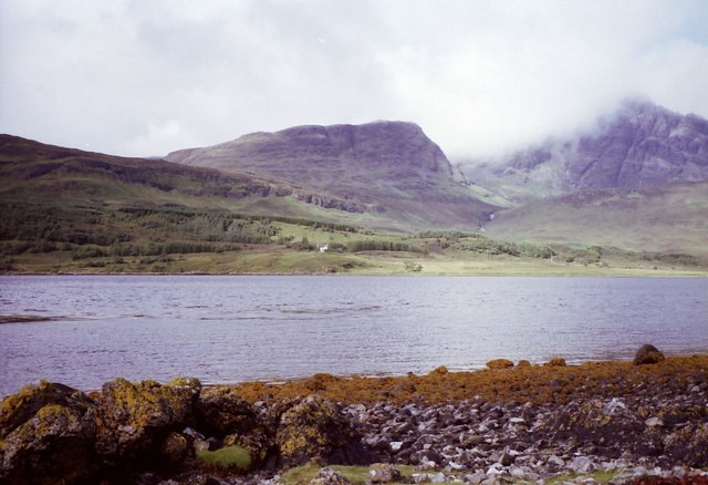 Looking across Loch Slapin