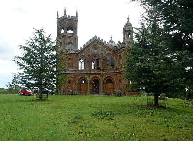 Stowe Park, Gothic Temple