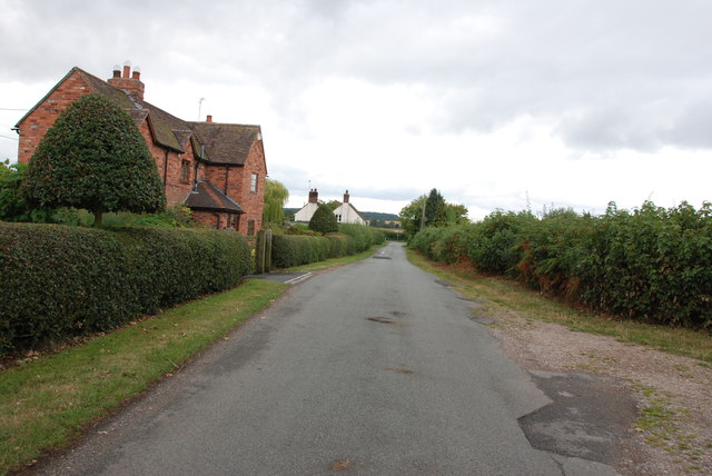 Past Houses to Road Junction