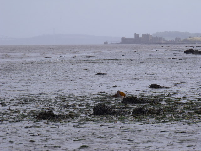 Looking east along the Forth Estuary