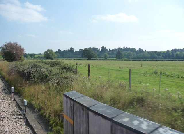 West Wiltshire : Railside & Fields