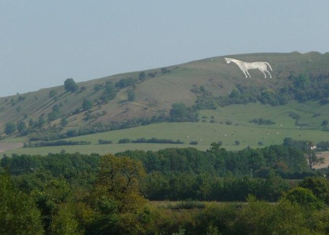 West Wiltshire : Westbury White Horse