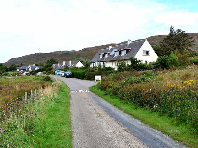 Houses on Pier Road, Kilchoan