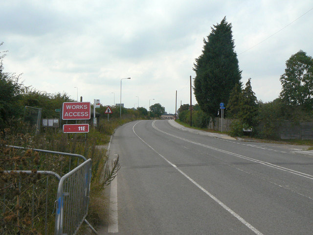 Old A52 at Saxondale