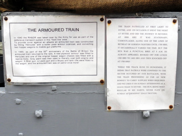 New Romney, RH&DR Armoured Train
