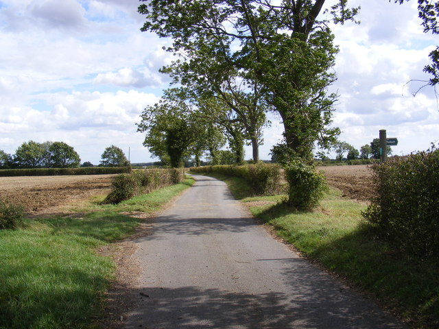 Footpath to Warrens & Shrubbery Farms