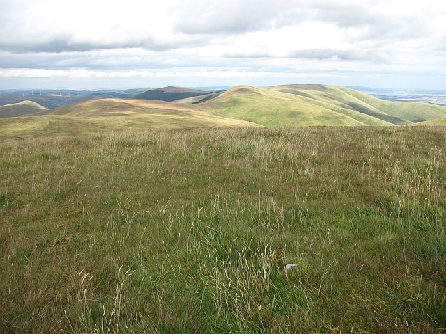 Tarmangie Hill seen from Andrew Gannel Hill