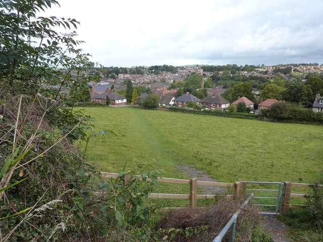 A view of Ashbourne from the south east