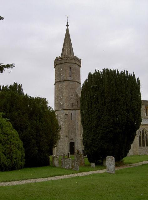 St Giles church tower
