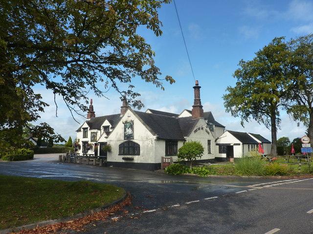 The Shire Horse, a pub in Wyaston