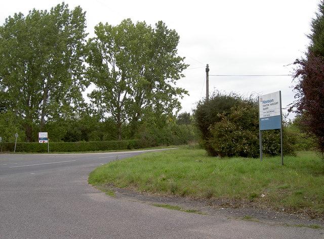 Linch Hill Leisure Park entrance