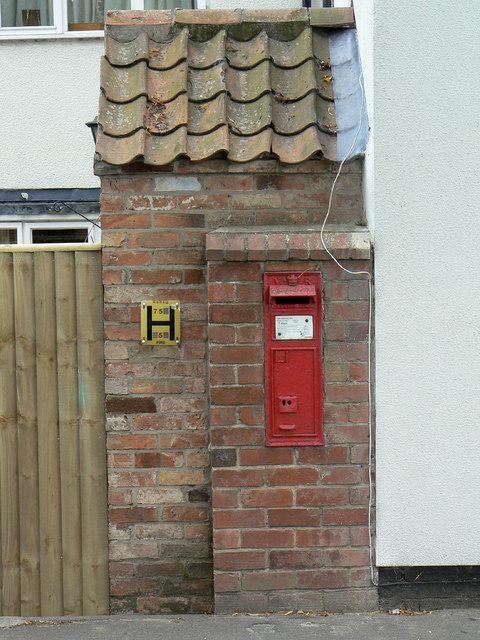 Tithby postbox ref NG13 88