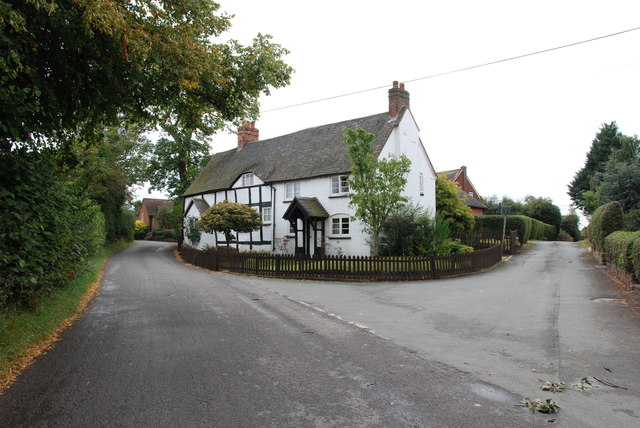 The Cottage on the Road Junction, Blymhill