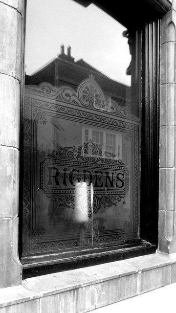 Rigdens Window at The Black Griffin