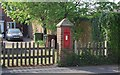TQ6644 : Victorian Postbox, Maidstone Rd by N Chadwick